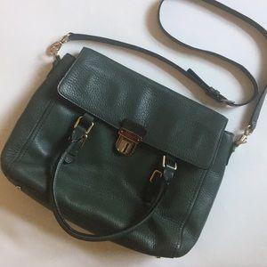 {Kate Spade} Forest Green Hobo Bag and Shoulder